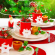 Festive table setting — Stock Photo #15829599