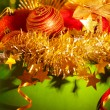 Different Christmas stuff — Stock Photo