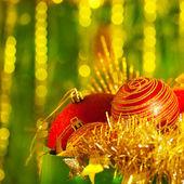 Decoration for Christmas tree — Stock Photo