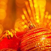 New Year holiday decoration — Stock Photo