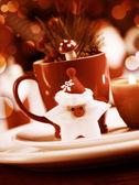 Christmas utensil set still life — Stock Photo