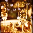 Christmas table setting — Stock Photo #16214035