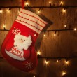 Royalty-Free Stock Photo: Traditional Christmas sock