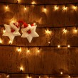 Royalty-Free Stock Photo: Christmas glowing background