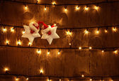 Christmas glowing background — Stock Photo