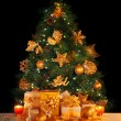 Gifts under Christmas tree — Stock Photo #16248153