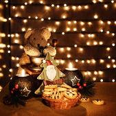 традиционные рождественские игрушки — Стоковое фото