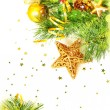 Christmas border - Stockfoto