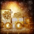 New Year gifts — Stock Photo