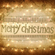Merry Christmas - Stockfoto