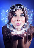 Christmas fairy — Stockfoto