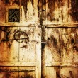 Royalty-Free Stock Photo: Old wooden door background