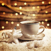 Christmas coffee — Stock fotografie