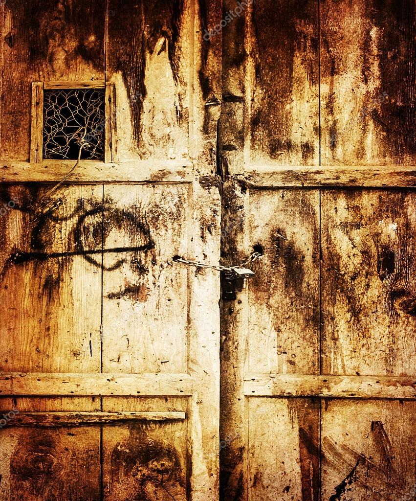 Old wooden door background stock photo annaomelchenko for Puerta wallpaper hd