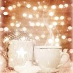 Christmastime coffee — Stock Photo #17701321