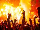 рок-концерт — Стоковое фото