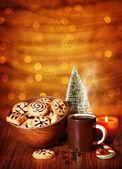 Biscoitos de natal — Fotografia Stock