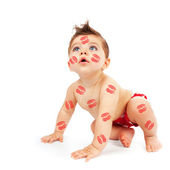 可爱的小男孩 — 图库照片