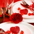Romantic table setting — Stock fotografie #19669453