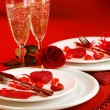 Romantic table setting — Stock Photo #19669683