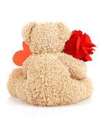 Teddy bear for Valentine day — Stock Photo