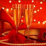 Valentine's day party — Stock Photo