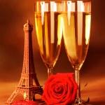 Festive romantic still life — Stock Photo