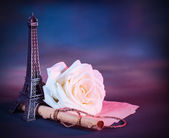 Romantic greeting card — Foto Stock