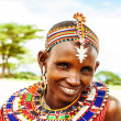 African tribal woman - Foto Stock