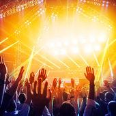 Fest i nattklubben — Stockfoto