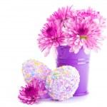 Festive Easter eggs — Stock Photo