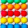Colorful Easter eggs - Stock Photo