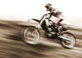 Championship of motocross — Stock Photo
