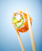 Tasty sushi roll — Stock Photo