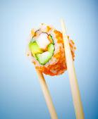 Tasty sushi roll — Stock Photo