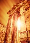 Temple of Jupiter ancient roman city — Stock Photo