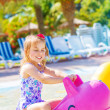 Royalty-Free Stock Photo: Baby girl in aquapark