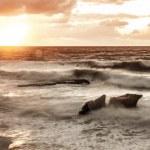 Sunset over sea — Stock Photo #25464695