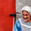 Old Mexican grandma — Stock Photo
