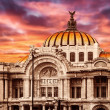 Palace of Fine Arts in Mexico City — Stock Photo