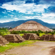 Pyramids of Mexico — Foto Stock