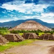 Stock Photo: Pyramids of Mexico