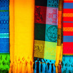 Traditional mexican neckerchief — Stock Photo