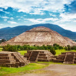Pyramids of Mexico — Stock fotografie