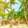Luxury beach resort — Stockfoto