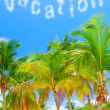 Summer vacation concept — Stock Photo