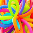 Colorful balloons background — Stock Photo