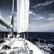 Luxury sail boat — Stock Photo