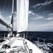 Luxury sail boat — Stock Photo #28870107