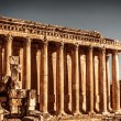 Stock Photo: Jupiter's temple, Baalbek, Lebanon